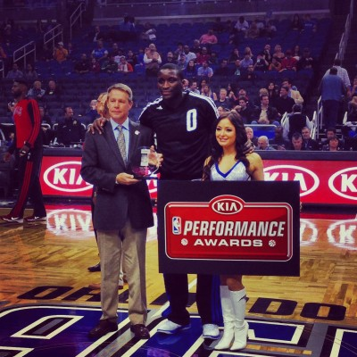 Victor Oladipo December Rookie of the Month