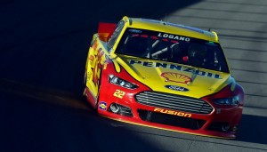 Joey Logano will be on the poll for Sunday's Kobal 400 in Las Vegas