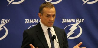 Tampa Bay Lightning GM Steve Yzerman