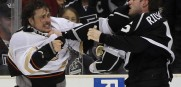 Teemu Selanne Brad Richards Fight 2014