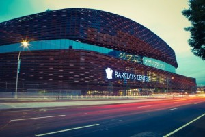 The Barclays Center arena in Brooklyn will host the ACC Basketball tournament in 2017 and 2018.