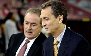 Al Michaels and Cris Collinsworth will call a Divisional Playoff game this year on NBC