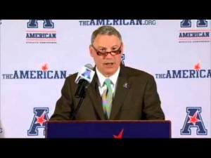 Commissioner Mike Aresco has the AAC on track