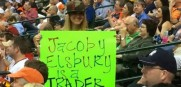 Jacoby Elsbury Sign