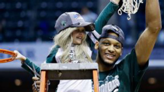Lacey with Net