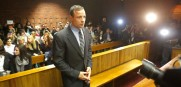 Oscar Pistorius is on trial for murdering his girlfriend.