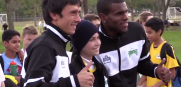 Rowdies Sign Cancer Patient