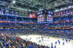 Tampa Bay takes on Montreal in round one of the Stanley Cup Playoffs with tonight's home game at the Forum