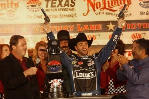 Texas has always been one of the best tracks on the NASCAR schedule for Jimmie Johnson.