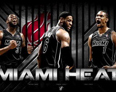 The Miami Heat will not know who they will play in the up coming NBA Playoffs until after tonights final game is over