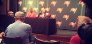 Jason Licht and Lovie Smith address their plan for the  next week. Visit sportstalkflorida.com for exclusive video footage.