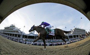 California Chrome Wins 2014 Kentucky Derby and brings big ratings for NBC