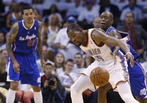 Jamal Crawford, Kevin Durant