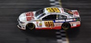 Dale Earnhardt Jr, National Guard sponsored car is seen here winning the Daytona 500