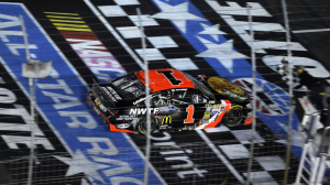 Jamie McMurray put on a show and won the Sprint All Star Race Saturday night.