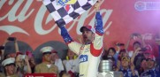 Jimmie Johnson wins the Coca-Cola 600