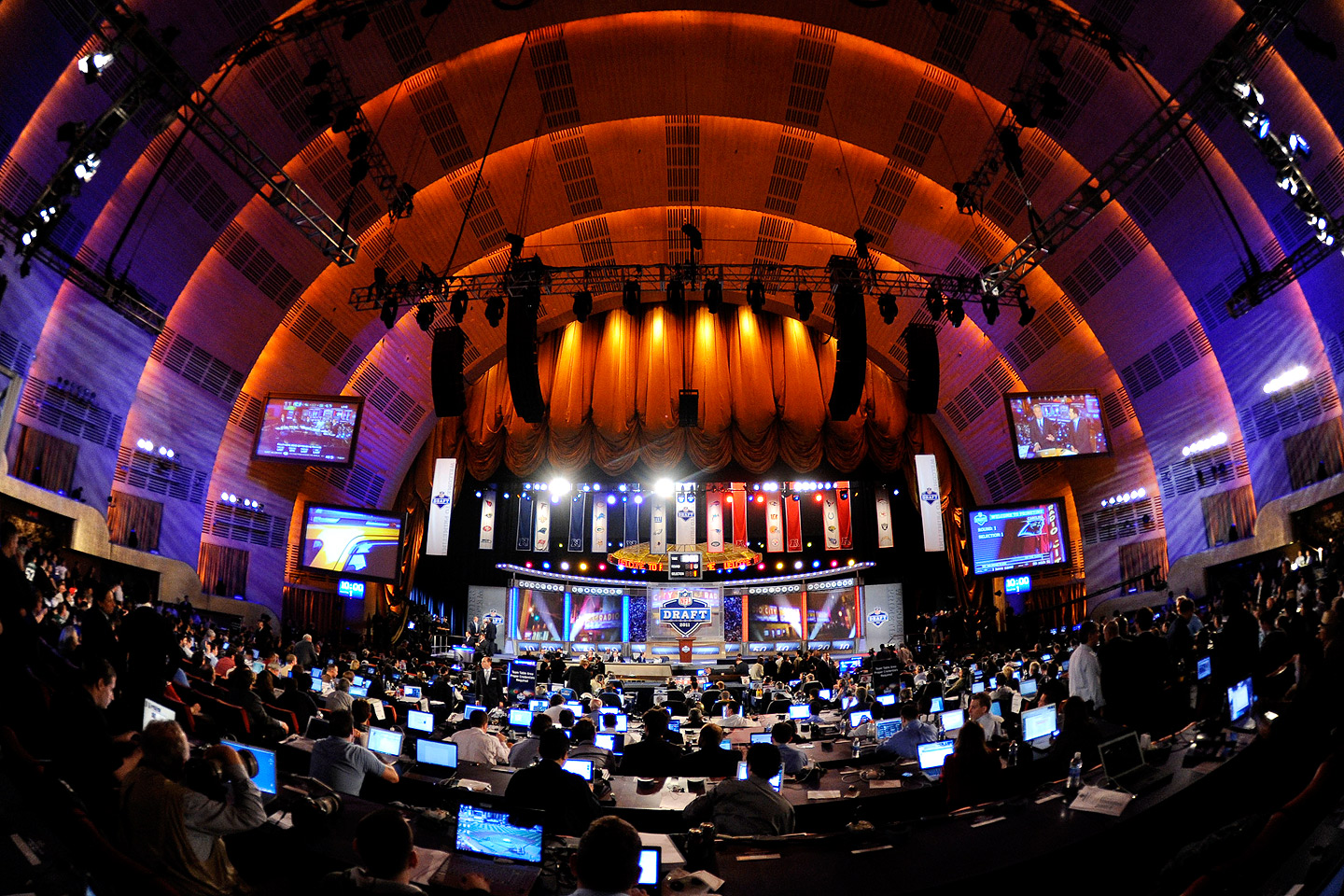 NFL DRAFT 2014 at the Radio City Music Hall