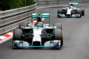 Nico Rosberg won the F1 Monaco Grand Prix on Sunday finishing ahead of Mercedes teammate Lewis Hamilton on the street of Monte Carlo