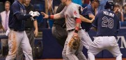 Rays and Red Sox Brawl