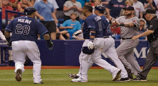 RedSox_Rays_Fight