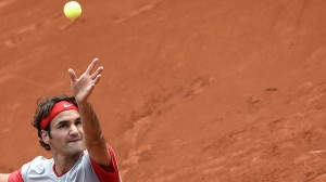 Roger Federer is seeking a second French Open title and he looked good on day one.