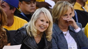 Shelly Sterling, left, wife of Los Angeles Clippers owner Donald Sterling, wants to take over full ownership of the team