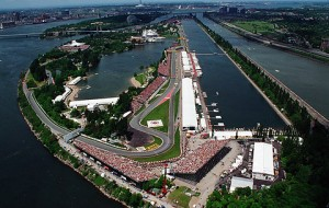 The Gilles Villeneuve Circuit in Montreal will host the F1 Canadian Grand Prix Sunday