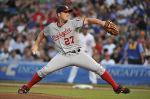 Jordan Zimmermann of the Washington Nationals is the NL Player of the Week.