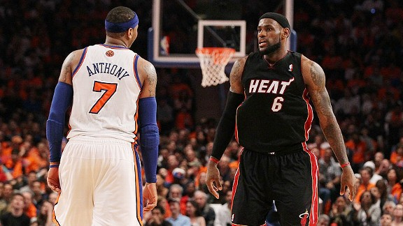 Suns Want To Become Destination For LeBron, Carmelo
