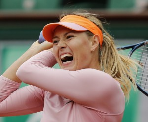 Maria Sharapova wins her second French Open title on a lovely day in Paris this afternoon.