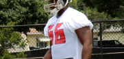 Bucs right guard Patrick Omameh at minicamp