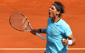 Rafael Nadal wins the French Open today in Paris.