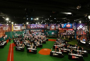 The 2014 MLB Draft will take place tonight in studio 42 at the MLB Studios.