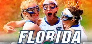 The University of Florida Women's Lacrosse helped keep the Gators in the Top Five in the LSDC
