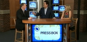 Roy Cummings and Jenna Laine join Rock Riley on BHSN's Press Box