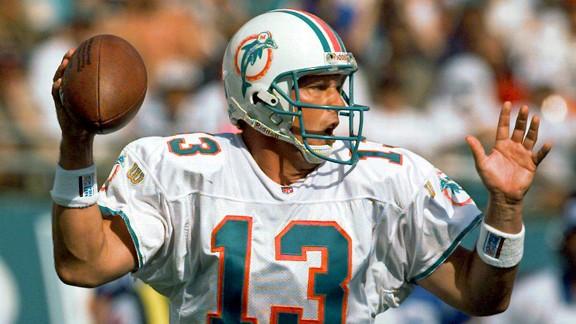 Former Dolphins QB Dan Marino