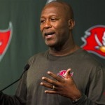 Lovie Smith is Excited to Get Rishaw Johnson in on the O-Line