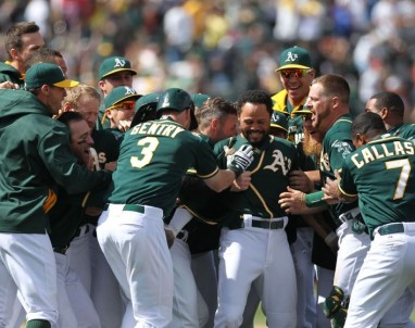 Are the Oakland A's the team to beat in MLB in 2014?