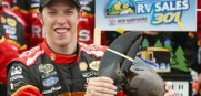 Brad Keselowski wins New Hampshire and gets the Big Lobster.