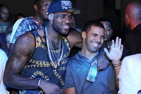 Drake and LeBron