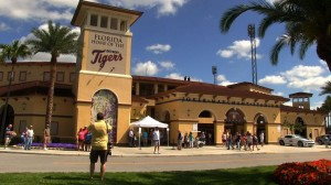 Joker Marchant Stadium in Lakeland. the long time winter home of the Tigers