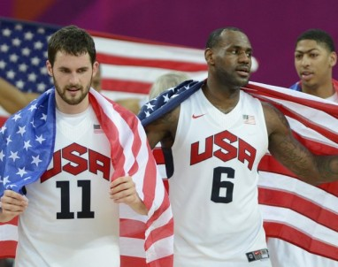 Olympics: Basketball-Men's Gold Medal Game-USA vs ESP