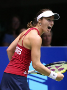 Martina Hingis wants to lead the Washington Kastles to a fourth straight WTT Title