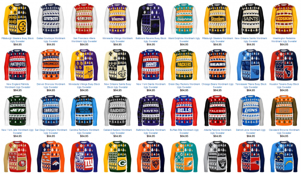 NFL Sweaters
