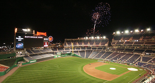 Nationals Park Fireworks