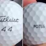 Golfer Finds Obama's Golf Ball in the Woods