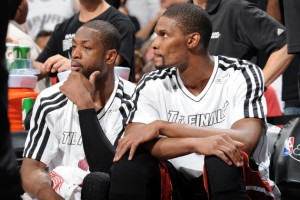 The Big Two are still in Miami -  Dwyane Wade and Chris Bosh but they are no longer a Southeast Division title lock