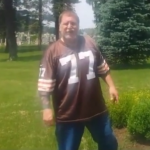Moronic Browns fan urinates on the grave of Art Modell