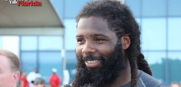 Bucs defensive end Adrian Clayborn