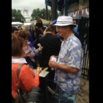 Bill Murray Checks Tickets At Minor League Baseball Game